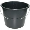 groothandel Reinigingsproducten: Emmer 12 liter  zwarte beperkt geschikt voor de bou
