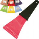 Car Ice Scraper  with handle 23x9cm trend colors so