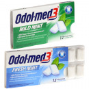 Food chewing gum  Odol Med3 12 assorted