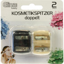 Cosmetics sharpener 4 cm 2 pcs. Each 2 sizes