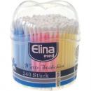 ingrosso Ingrosso Drogheria & Cosmesi: tamponi di cotone  240 Elina  Multicolor ...