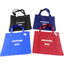 wholesale Bags & Travel accessories: Bag shopping bag  XL 4 colors assorted 39x37x1