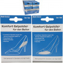 wholesale Fashion & Apparel: Einlagepads gel  for shoes 2er 8x5cm in Display so