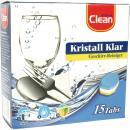 ingrosso Pulizia: Piatti  Reinigertabs Clean 3in1 15er