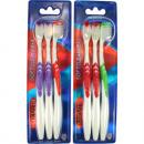 wholesale Dental Care: Toothbrush Marvita  Softclean 2 + 1 Anti-slip handl