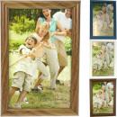groothandel Foto's & lijsten: Fotolijst  houtmotief 10x15cm  4 kleuren ...