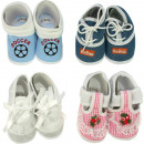 Baby shoes up to 6 months design and color assorte
