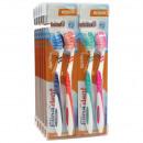 groothandel Drogisterij & Cosmetica: Tandenborstel  Elina 2er flexident Kaart 18cm