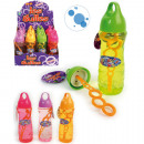 wholesale Outdoor Toys: Soap bubbles 250ml  18cm in the Display 4 colors