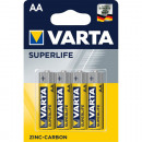 grossiste Batteries et piles: Batterie Varta Super Life AA 4p