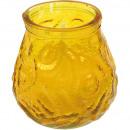 groothandel Home & Living: Candle Citronella in een glas