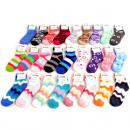 wholesale Fashion & Apparel: Socks  Kuschelsocken  Strip look 12 fold ...