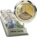 Cosmetics Eyeshadow Sabrina 5,2g Trio 10fach sort