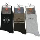 wholesale Fashion & Apparel: Socks Men 1 pair  Size 39-42 & 43-46 with motif