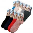 mayorista Ropa / Zapatos y Accesorios: Calcetines  Kuschelsocken Uni  ABS 9 colores ...