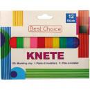 grossiste Bricoler et dessiner: Plasticine coloré  pour les enfants 180g 12 couleur