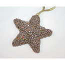 Star LUXUS gold with pendant 10x4cm,