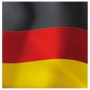 Fan Servietten 20er Deutschland 3lagig 33x33cm