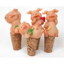 grossiste Cadeaux et papeterie: cochon charme  chanceux comme des bouchons de boute