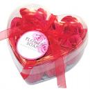 Flower rose soap  red, set of 9, ca. 10cm,