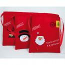 ingrosso Borse & Viaggi: sacchetto feltro  con applicazione 19x16cm 3 strati