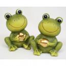 nagyker Otthon és dekoráció: Frog 9,5x8x7cm arany kerámia gömb