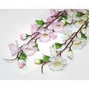 Großhandel Kunstblumen: Apfel- bzw.  Kirschblüte XL mit 12 Blüten 60x9cm