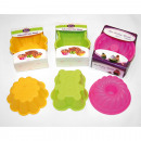 wholesale Casserole Dishes and Baking Molds: Baking molds made of silicone set of 2, 3 designs