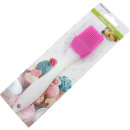 wholesale Kitchen Gadgets: Cake brush made of  silicone 19x4cm, frosted handle