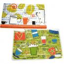 groothandel Tafellinnen: Placemat trendy design 44x25,5cm motieven geassort