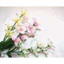 Bouquet lilies 47cm with 7 heads 3-way sorti