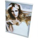 Großhandel Bilder & Rahmen: Fotorahmen Trend  15x20cm mit silberfarbenen Rand