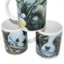 Coffee cup 325 ml / 11 OZ, 9,5x8cm DOG design,