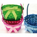wholesale Houshold & Kitchen: Bast basket with handle and loop