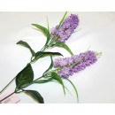 Lilac with 2 big flowers 80x8cm, with grass