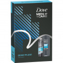 Dove GP Men Shower  250ml + Deospray 150ml Clean