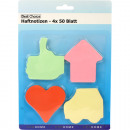 wholesale Gifts & Stationery: Haftnotizen Memo  4x 50 sheets different forms