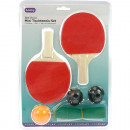 Table Set Set Mini  2 Racket 16cm Ball + Net