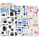 Microfiber kitchen towels CLEAN set of 3