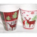 grossiste Tasses & Mugs: tasse à café  Elchdesign 9 oz / 265ml, 2 belle Moti