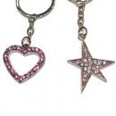 ingrosso Articoli da Regalo & Cartoleria: Key strass catena  bagliori  d'argento ...