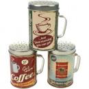 nagyker Egyéb: Fém almot XL  6,6x10cm nagy kávé Desi