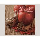 Großhandel Haushalt & Küche: Premium Servietten  Bratapfeldesign 20er, 3lagig