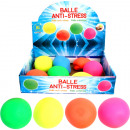 wholesale Toys: Anti Sress balls  for kneading 5,5cm 6 colors assor