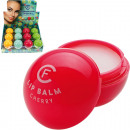 wholesale Drugstore & Beauty: Lip care Balm ball  6,5g 4 times assorted in the 24