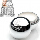 wholesale Drugstore & Beauty: Lip care Balm ball  6,5g silver in 24er Displa