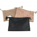 Cosmetic bag FOR  MEN 26,5x17x8,5cm 3-fold sortie