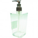 wholesale Home & Living: Soap dispenser  acrylic with chromed pump 300ml