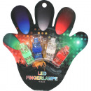 wholesale Toolboxes & Sets: LED finger  assorted set of 4, colored assorted , 4