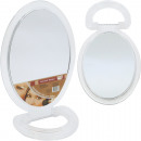 grossiste Miroirs: Miroir Presentoir  ovale 23x15cm transparent